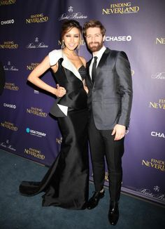 @Matt_Morrison at the opening night party for 'Finding Neverland'