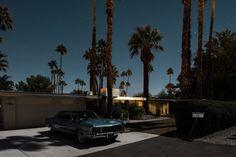 Midnight Modern in Palm Springs by Tom Blachford