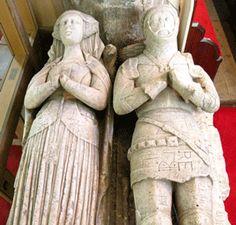 Sir John Savile | ... sir john savile 1481 wife alabaster effigies wadworth st john the
