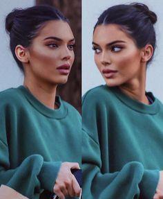 fresh makeup look Kendall Jenner Makeup Inspo, Makeup Inspiration, Beauty Makeup, Hair Makeup, Hair Beauty, Makeup Ideas, Fashion Inspiration, Brunette Beauty, Beauty Style