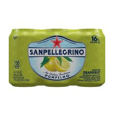 San Pellegrino Sparkling Fruit Beverages, Pompelmo (Grapefruit),11.15 oz Cans (Pack of 6) -- Awesome product. Click the image : Prime Pantry