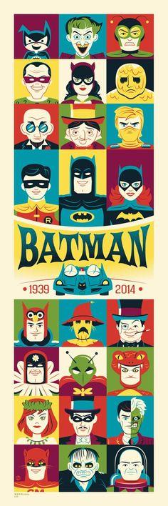 Montygog's Art-O-Rama! Batman poster