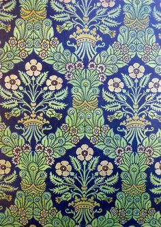 Tejido de seda. Florencia, mediados siglo XVI.