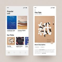 Hi there, glad to show you my new work - this is a book reading app concept, I tried to keep it clean & simple. Best Picture For simple App Design For Your Taste You are loo Ui Design Mobile, App Ui Design, Mobile Ui, Interface Design, User Interface, Email Design, Mobile Code, Library App, Book Of Circus