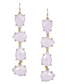 Laine Earrings in Lilac