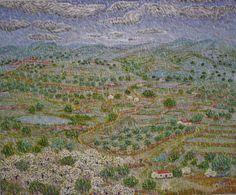 Día de lluvia. Óleo sobre lienzo. 2010. 73x60cm 170€