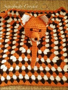 Mesmerizing Crochet an Amigurumi Rabbit Ideas. Lovely Crochet an Amigurumi Rabbit Ideas. Cute Crochet, Crochet For Kids, Crochet Crafts, Crochet Projects, Knit Crochet, Crochet Afghans, Crochet Patterns, Crochet Lovey Free Pattern, Crochet Security Blanket