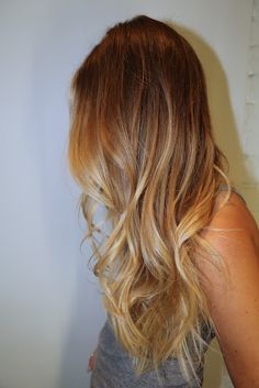 Blonde Ombre... wish i had got this done instead of highlights :((((((((( guess ill have to wait till next month.