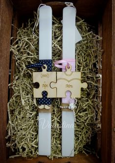 Mr Mrs, Easter Crafts, Diy And Crafts, Projects To Try, Gift Wrapping, Candles, Education, Holiday Decor, Pink