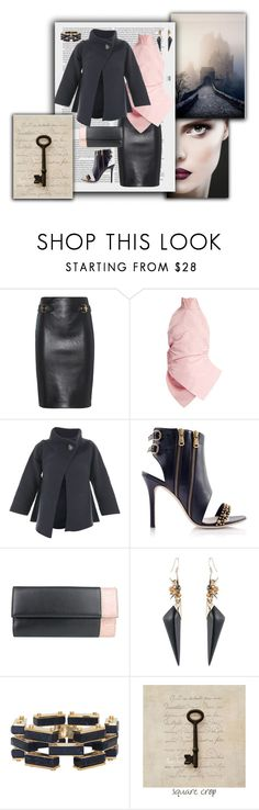 """""""Untitled #2451"""" by jax522 ❤ liked on Polyvore featuring Moschino, Rosie Assoulin, Hemisphere, Gucci, Alexis Bittar and Lele Sadoughi"""