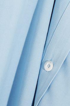 Staud - Tommy Jersey Midi Skirt - Light blue - x small