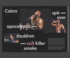 Pop Cult Magazine on Editorial Design Served