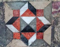 Particolare del pavimento di S.Marco, Venezia