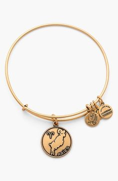 Alex and Ani 'Aries' Adjustable Wire Bangle available at #Nordstrom