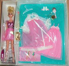 Vintage Barbie Friend Francie Rise 'N Shine with Accessories