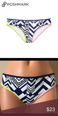 VS SWIMSUITS BOTTOM INK BLOT GEO Victoria Secret Brand New The Classic Hipster in Ink Blot Geo color in size Medium. Low rise Classic coverage: Full back, shows curves, not skin. Lined. In smooth matte fabric or lace overlay imported polyester/spandex. Victoria's Secret Swim Bikinis