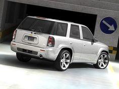 Chevrolet Trailblazer SS Model available on Turbo Squid, the world's leading provider of digital models for visualization, films, television, and games. Chevy Trailblazer Ss, S10 Blazer, Gmc Envoy, Ford Bronco, General Motors, Chevy Trucks, Light Led, Vehicles, Model