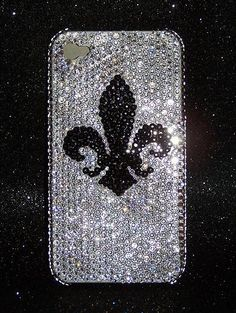 Bling Cell Phone Covers : Swarovski Crystal Phone Case