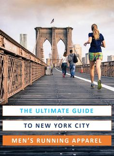 It may be just exercise, but it's still New York City. Stay fresh and look good with the best men's running apparel out there! Usa Travel Guide, Travel Usa, Travel Guides, Travel Tips, Canada Travel, Travel Advice, Travel Destinations, Running In Cold Weather, Winter Running
