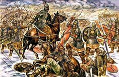 В официальной русской историографии сложился канонический список главных битв. Мы помним сражениена Куликовом поле и Бородинскую битву, битву на Калке и взятие Казани. Но некоторые по-настоящему судьбоносные для России битвыоказались почти забыты.