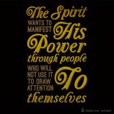 Let God use you for His glory.  #glory #ihopkc #holyspirit