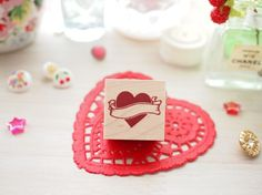 Cui stamp (Heart)