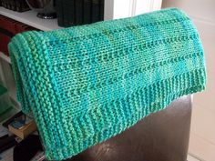 by Pam Knitting Paterns, Loom Knitting, Knitting Projects, Baby Afghans, Afghan Blanket, Knitted Blankets, Baby Things, Crochet Ideas, Free Pattern