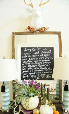Charming in Charlotte: Blogger Stylin' Home Tours: Fall 2014 Edition