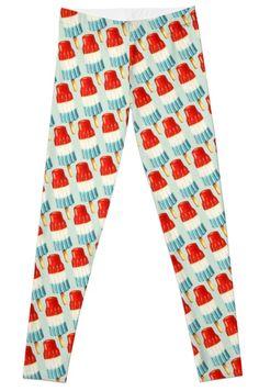 24aeef68d0d8ea Bomb Pop Pattern Legging Patterned Leggings, Digital Pattern, Pajama Pants,  Pop, Womens