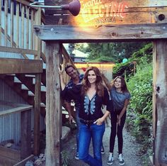 See How Celebs Spent Their Summer Vacation - Cindy Crawford and Family