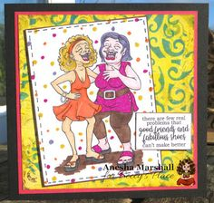 Beccy's Place Digital Stamps, Cool Things To Make, Digital Image, Two By Two, Best Friends, Paper Crafts, Colours, Cards, People