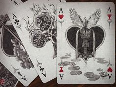 Arcana Tarot Playing Cards Light - Tuck case