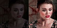 PSD: Teen Wolf - 117. Lydia Martin by clawsandbrushes