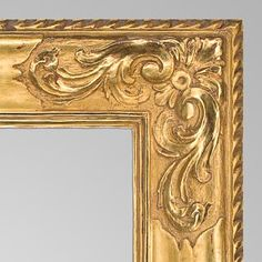 Carrig Rohane Frame, Early 20thCentury, Finely Carved and Gilt. Find this and other decorative arts at CuratorsEye.com.