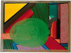 Howard Hodgkin: Paintings That Shout 21st Century Artists, Howard Hodgkin, John Baldessari, David Hockney, National Portrait Gallery, Abstract Painters, Paintings, York, Collect Art