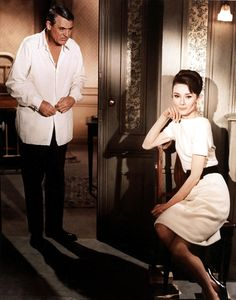 Cary Grant & Audrey Hepburn in Charade (1963)