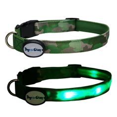 Image for DogEGlow Green Collar Medium (Online Only) from Pets At Home