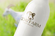 Goat Farm by Steinar Logo on @creativemarket
