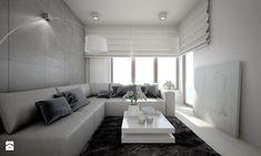 Aranżacje wnętrz - Salon: Mieszkanie w bieli - Mały salon, styl nowoczesny - TK Architekci. Przeglądaj, dodawaj i zapisuj najlepsze zdjęcia, pomysły i inspiracje designerskie. W bazie mamy już prawie milion fotografii!