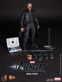 Nick Fury Figure - Don't act like you're too old for this!