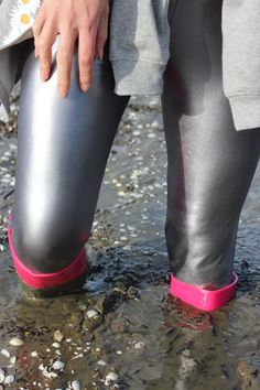 Thigh High Boots Heels, Heeled Boots, Mudder, Mudding Girls, Hunter Boots, Thigh Highs, Rubber Rain Boots, Latex, Tights