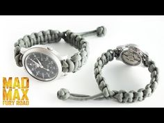 How to Make a Paracord Watch Band Tutorial | Knot and Loop Watch Band Without Buckle - YouTube