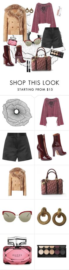 """""""Untitled #162"""" by bsrabali ❤ liked on Polyvore featuring Home Decorators Collection, The Row, Valentino, Liven, Christian Dior, Bulgari, Chanel, Gucci and Witchery"""