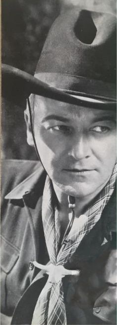William Boyd - Hopalong Cassidy photo from the Renegade Trail Paramount Press Book