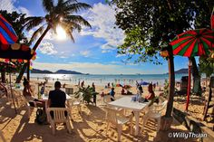 Chez Bernard, sometimes called No. 6 Restaurant, is a well-established cheap eatery on Patong Beach in Phuket, Thailand