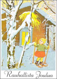 Olavi Vikainen Christmas 2017, Xmas, Spoiled Rotten, First Love, My Love, Vintage Postcards, Gnomes, Martini, Woodland