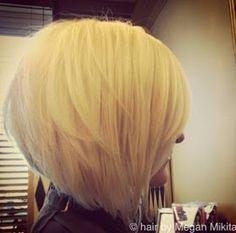 PinTutorials: Stacked Bob Haircut for Blonde Hair