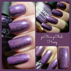 piCture pOlish: Hussy - Swatches and Review