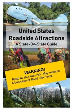 The BIG State-by-State List of U. Roadside Attractions - Travel tips - Travel tour - travel ideas Us Road Trip, Family Road Trips, Road Trip Hacks, Route 66 Road Trip, Minivan, Laos, Life Hacks, Roadside Attractions, United States Travel