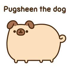 Pusheen as a pug = pugsheen